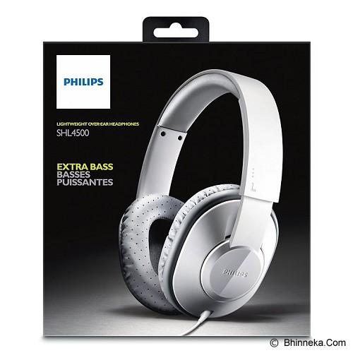 PHILIPS Lightweight Headphone [SHL 4500 WT] - White - Headphone Full Size